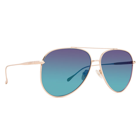NALA - GOLD + BLUE FLASH POLARIZED