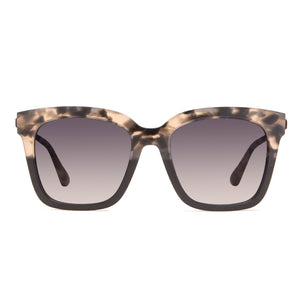 Women's Square Sunglasses - Bella Grey Fade