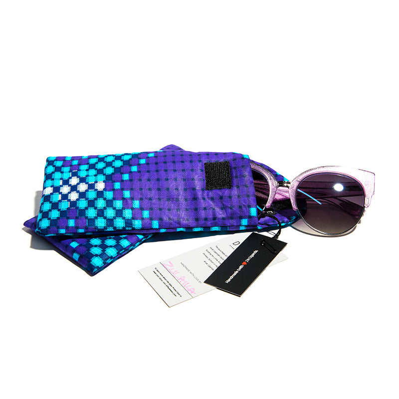 African Kitenge Eyewear Pouch - Obiti (Morning)