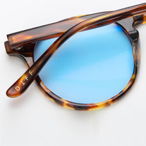 SAWYER - AMBER TORTOISE + BLUE BLUE LIGHT TECHNOLOGY