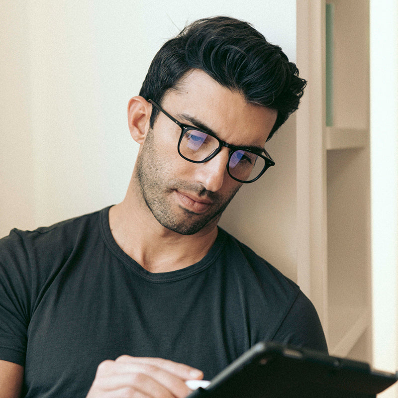 JUSTIN BALDONI - MAXWELL + BLACK + BLUE LIGHT TECHNOLOGY CLEAR