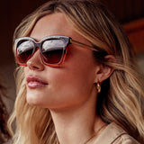 BELLA - TAUPE OMBRE CRYSTAL + BROWN GRADIENT + POLARIZED