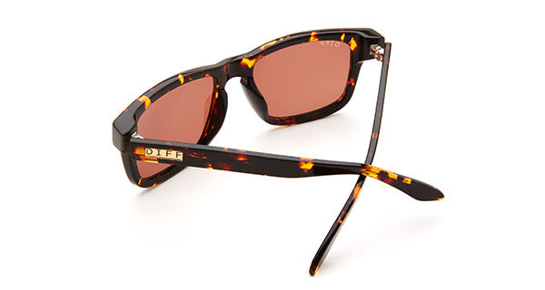 RILEY - TORTOISE FRAME - BROWN LENS - DIFF Eyewear  - 4