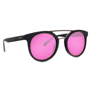 ASTRO - MATTE BLACK + PINK MIRROR + POLARIZED