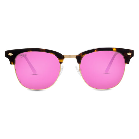 BARRY - TORTOISE + PINK MIRROR + POLARIZED
