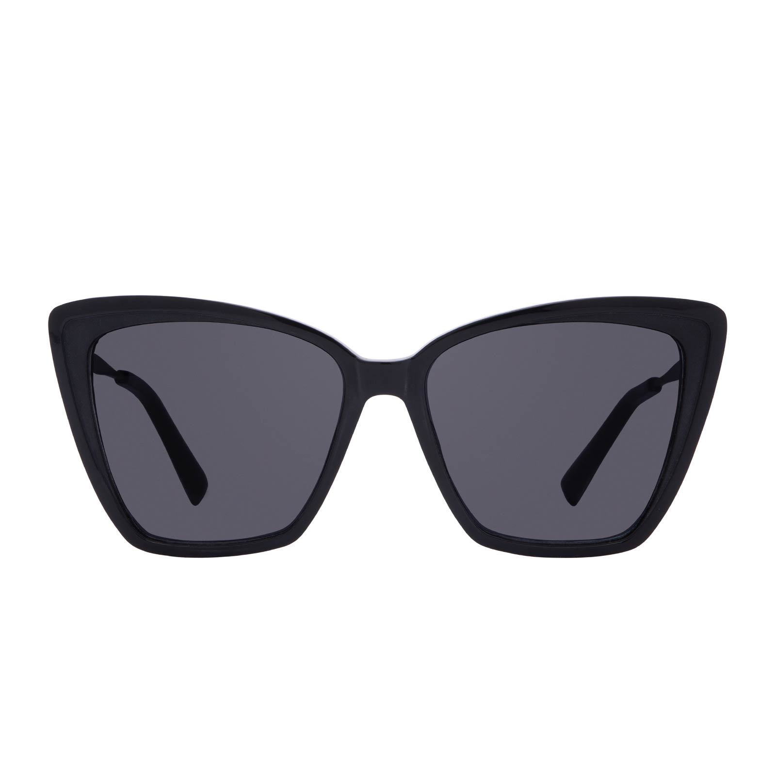 BECKY II - BLACK + DARK SMOKE POLARIZED