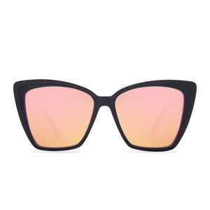 Hannah Godwin Becky II Black and Pink Mirror Polarized front