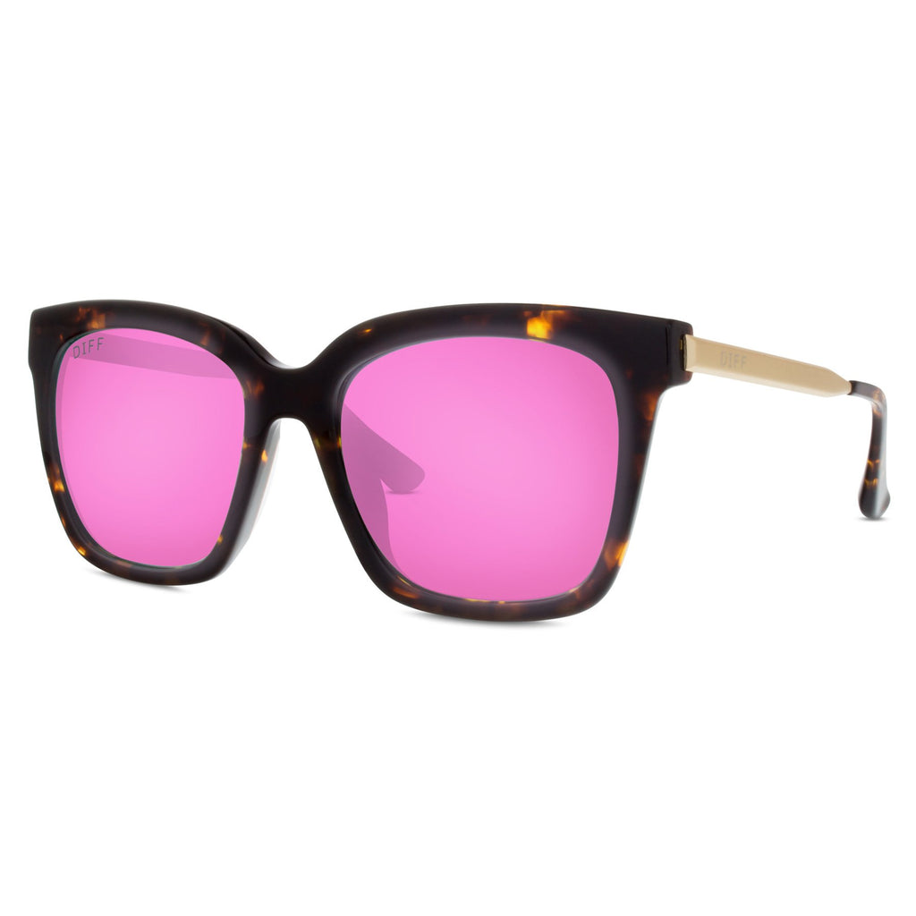 04d047e80e5 Bella Tortoise Framed Sunglasses