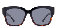 swatch for BELLA II - BLACK TORTOISE + GREY POLARIZED