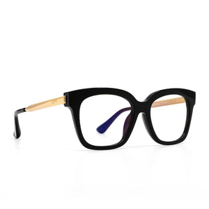 Bella xs black frame prescription lens angle