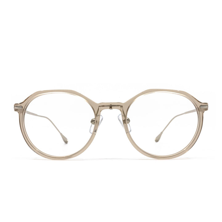 Bennett eye glasses with vintage crystal frames and blue light technology- front view