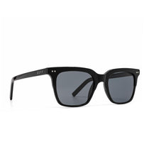 Billie sunglasses with black frame and grey polarized lens- angle view