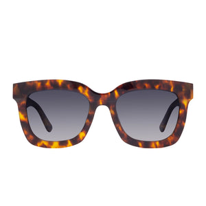 CARSON - AMBER TORTOISE + BLUE STEEL GRADIENT + POLARIZED