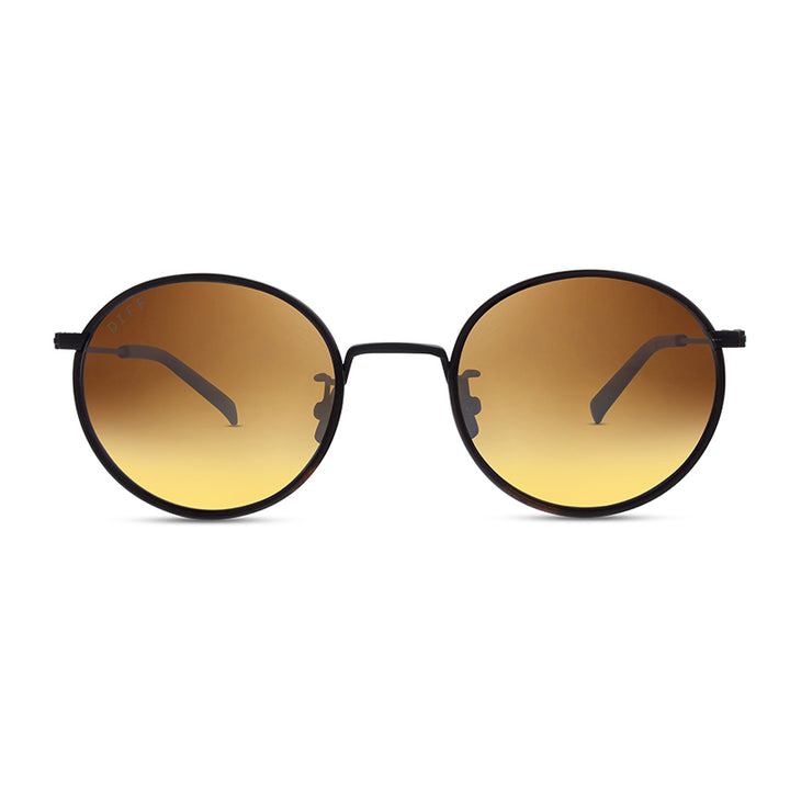 DAISY - MATTE BLACK TORTOISE + BROWN + POLARIZED