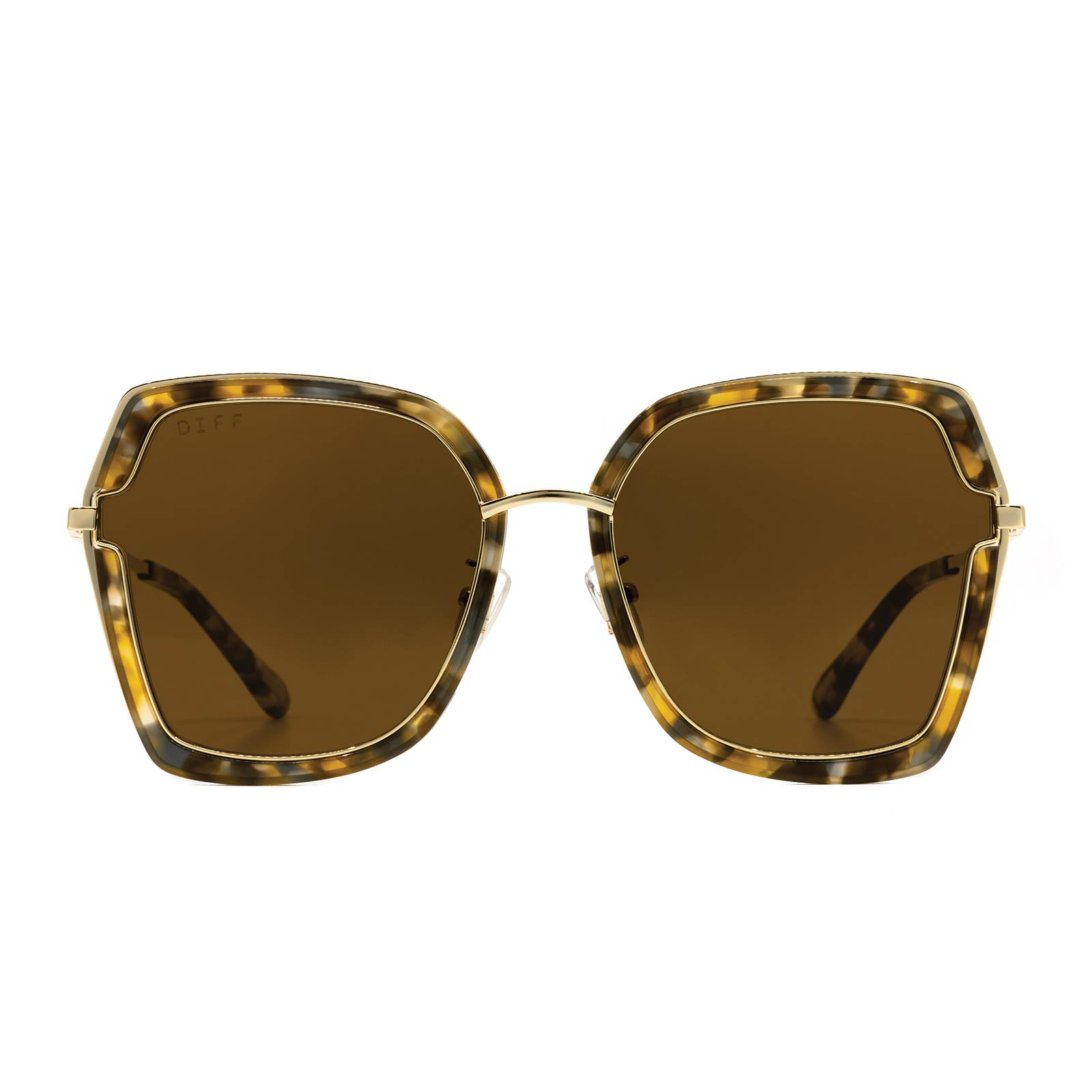 Dakota Gold Oversized Sunglasses