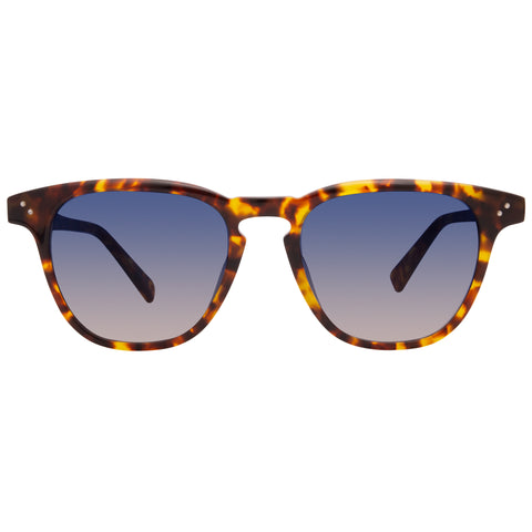 HARLEY - AMBER TORTOISE + BLUE STEEL GRADIENT + POLARIZED