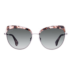 Cat Eyes - Izzy - Himalayan Tortoise Light Gunmetal + Smoke Gradient + Polarized