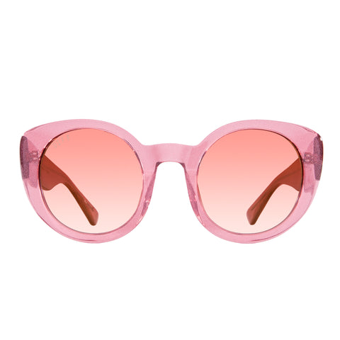 LUNA - QUARTZ GLITTER + ROSE GRADIENT GOLD FLASH + POLARIZED