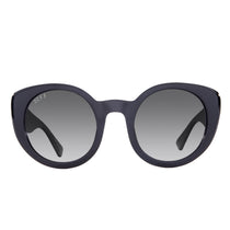 Oversized sunglasses for women luna black smoke gradient polarized lens