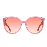 Round Sunglasses for Women - Cosmo Quartz Glitter