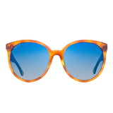 COSMO - HONEY TORTOISE + BLUE FLASH GRADIENT + POLARIZED