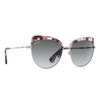 IZZY - HIMALAYAN TORTOISE LIGHT GUNMETAL + SMOKE GRADIENT + POLARIZED