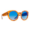 LUNA - HONEY TORTOISE + BLUE FLASH GRADIENT + POLARIZED
