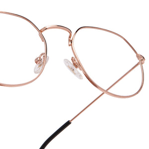 JAMES - ROSE GOLD + CLEAR