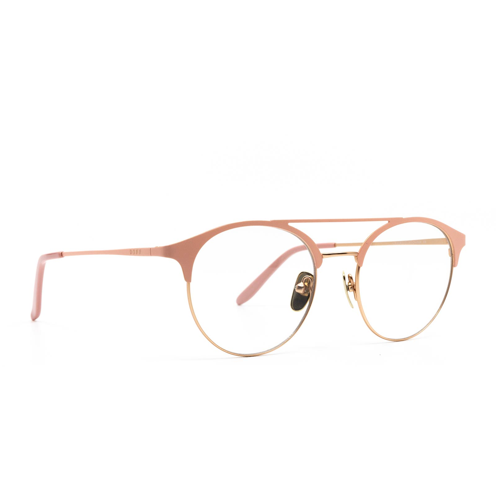 LEXI - ROSE GOLD + BLUSH PINK + CLEAR