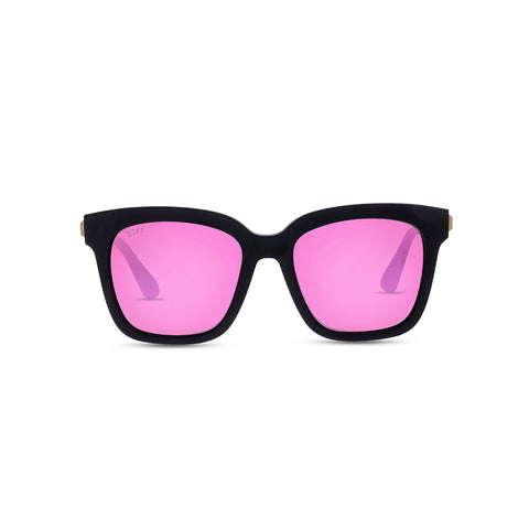 KIDS BELLA - MATTE BLACK + PINK