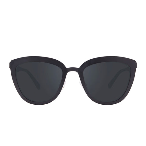LILY - POLISHED BLACK + PRESCRIPTION POLARIZED