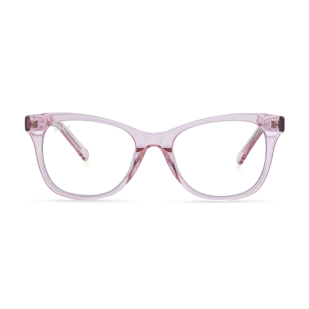 CARINA - LIGHT PINK CRYSTAL + CLEAR FRONT