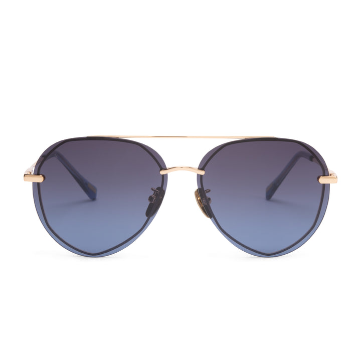 LENOX - GOLD + BLUE GRADIENT + POLARIZED
