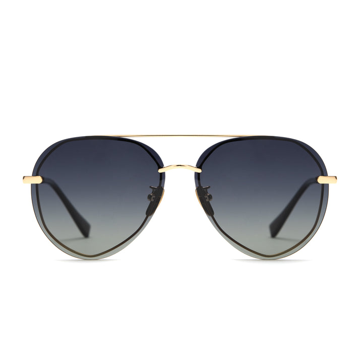 lenox gold and black and grey gradient polarized front