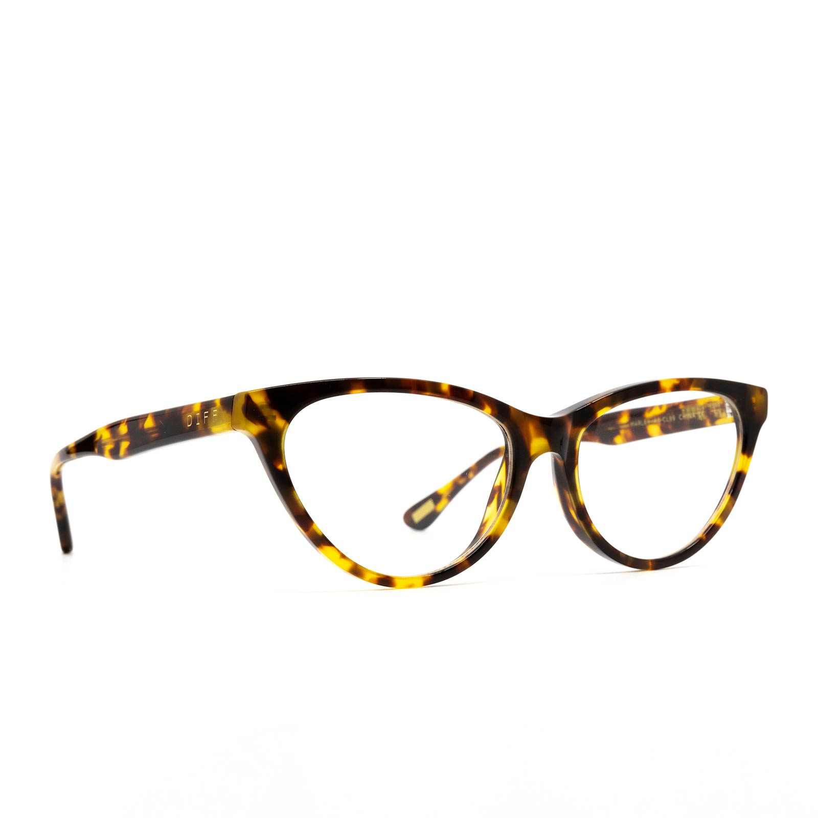 MARLEY - AMBER TORTOISE + BLUE LIGHT TECHNOLOGY CLEAR