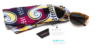 swatch for African Kitenge Eyewear Pouch - Amana (Peace)