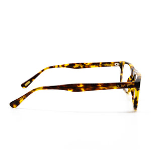 REESE - AMBER TORTOISE + BLUE LIGHT TECHNOLOGY CLEAR