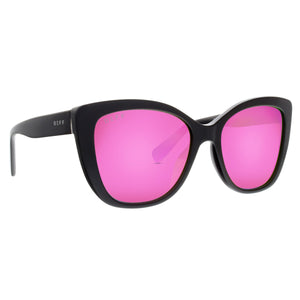 RUBY - BLACK + PINK MIRROR + POLARIZED