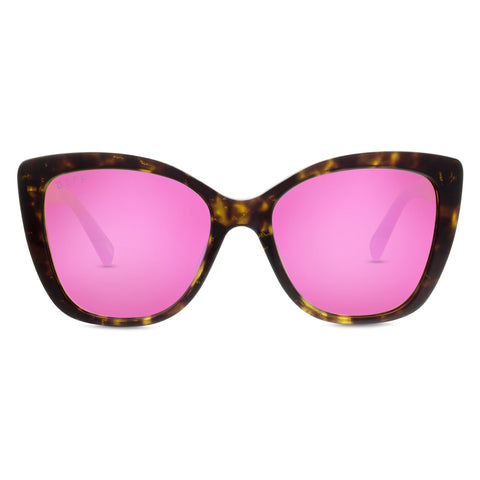 ruby gold tortoise pink front