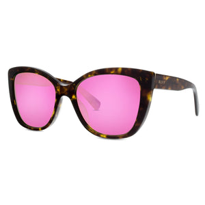 ruby gold tortoise pink mirror right angle