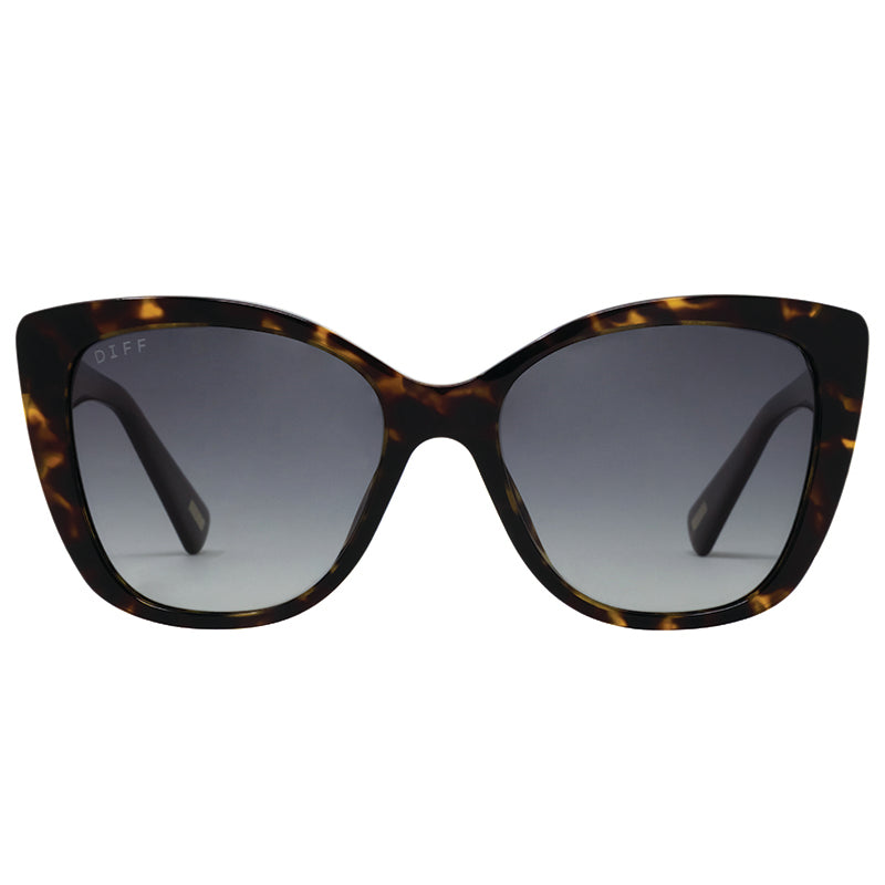 ruby amber tortoise steel gradient front