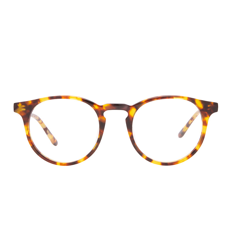 SAWYER - AMBER TORTOISE + CLEAR