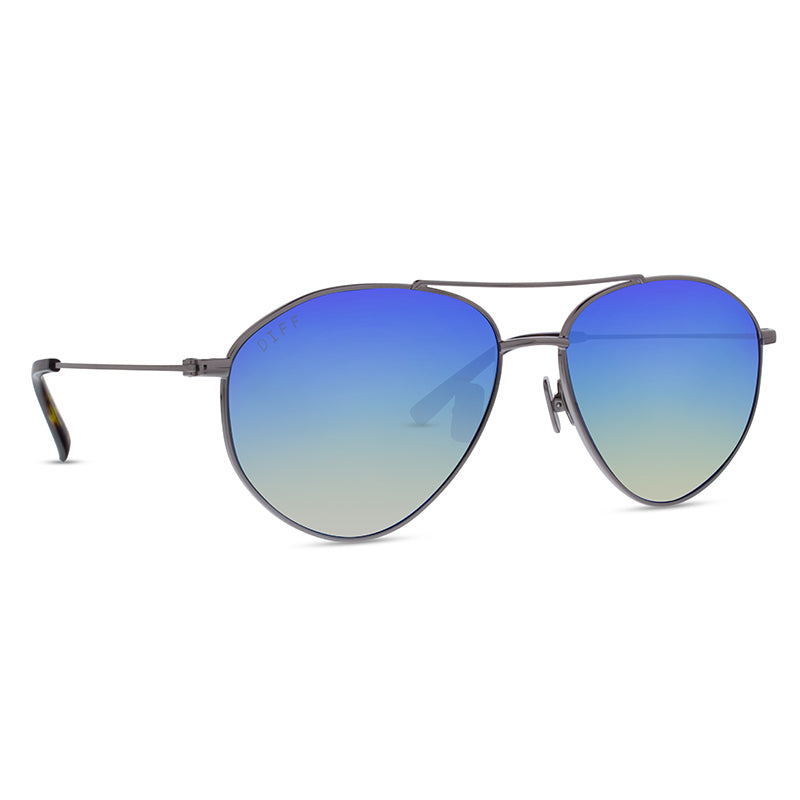 SCOUT - LIGHT GUNMETAL + ICE BLUE MIRROR + POLARIZED