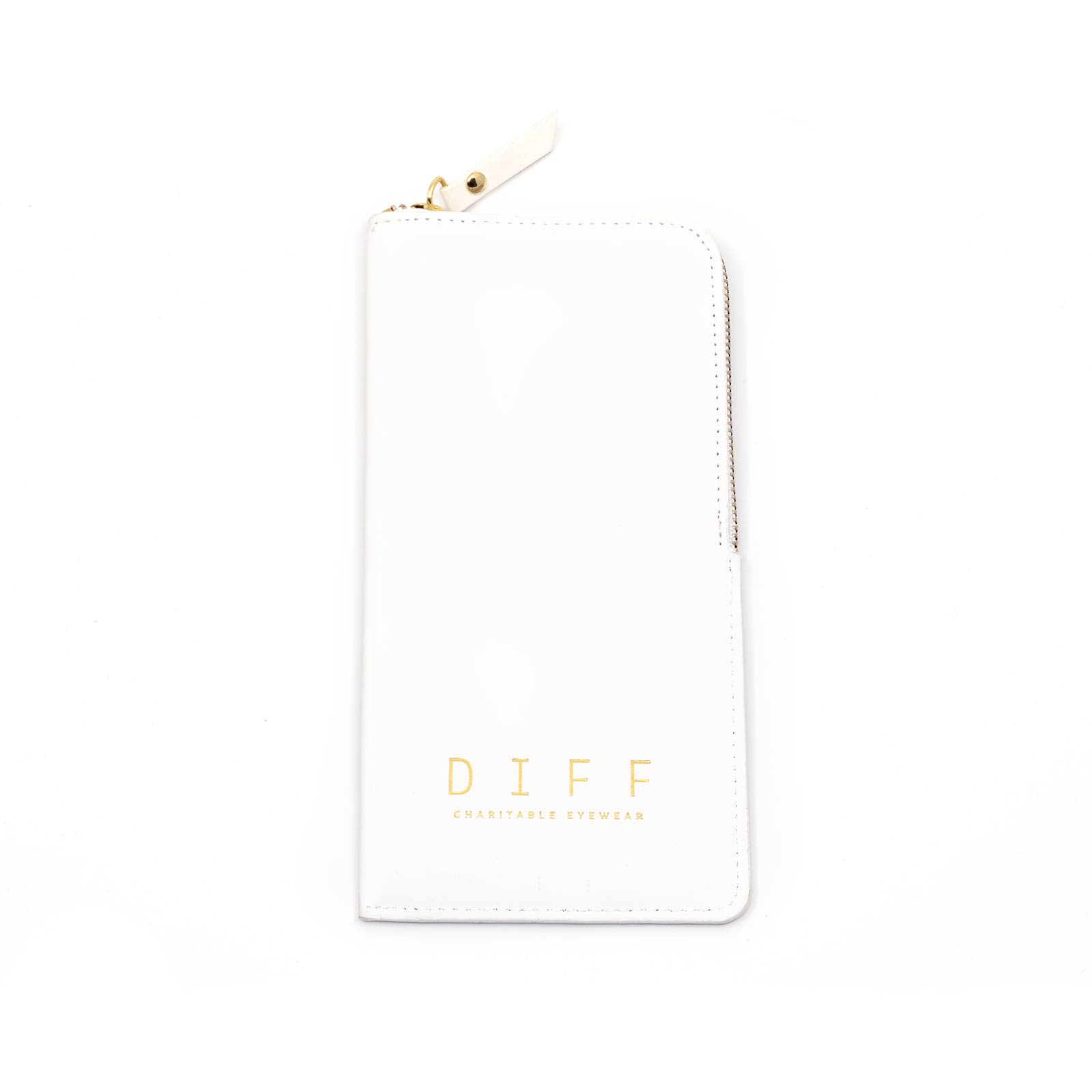 SOFT SIDE ZIPPER CASE - White