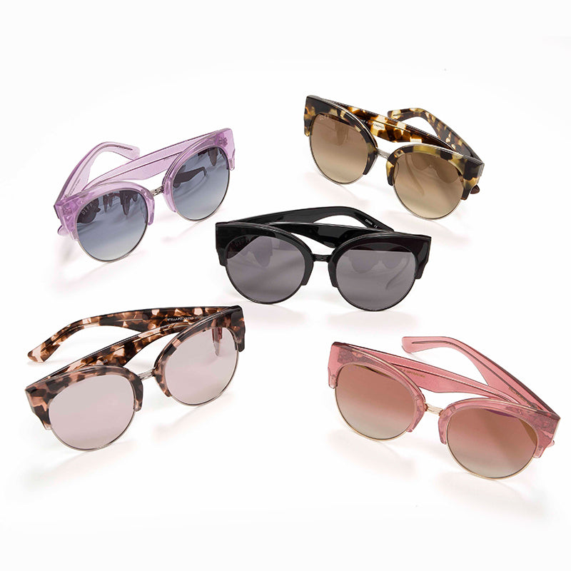 STELLA - QUARTZ GLITTER GOLD + ROSE GRADIENT GOLD FLASH + POLARIZED
