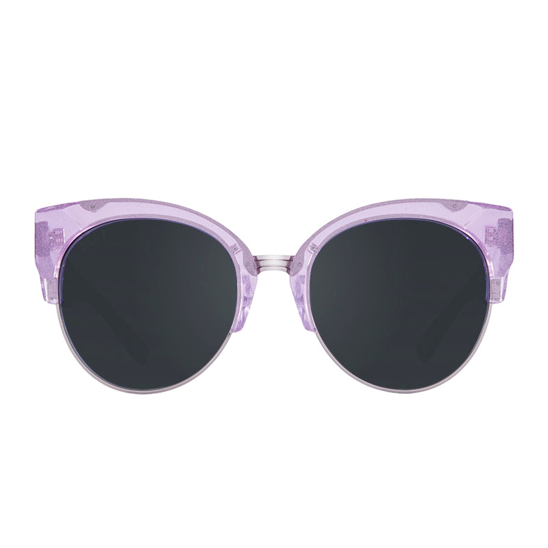 STELLA - AMETHYST GLITTER LIGHT GUNMETAL + PRESCRIPTION POLARIZED