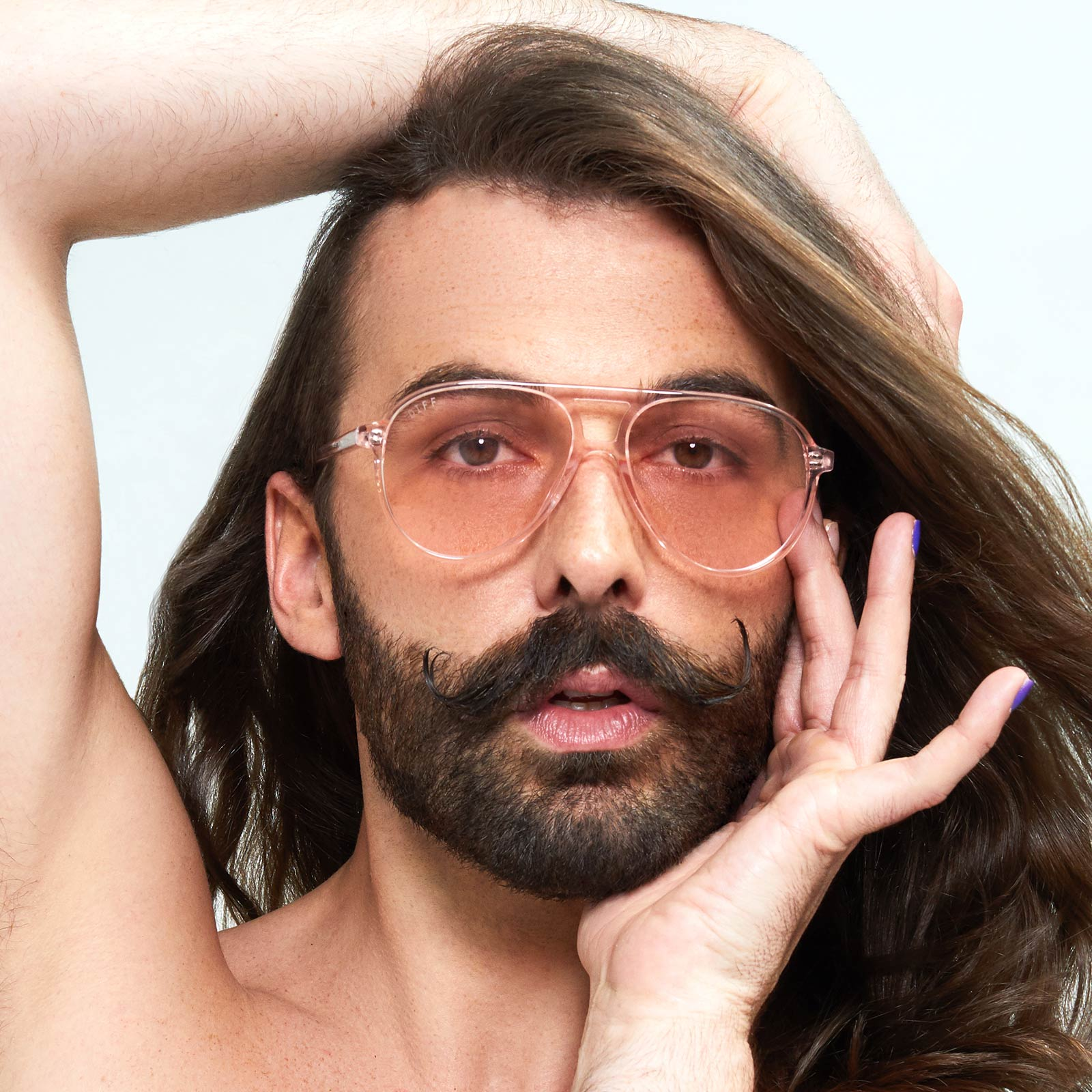 JONATHAN VAN NESS - TOSCA + ROSE CRYSTAL + TRANSPARENT PINK