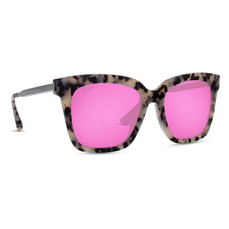 BELLA - COOKIES & CREAM + PINK MIRROR + POLARIZED