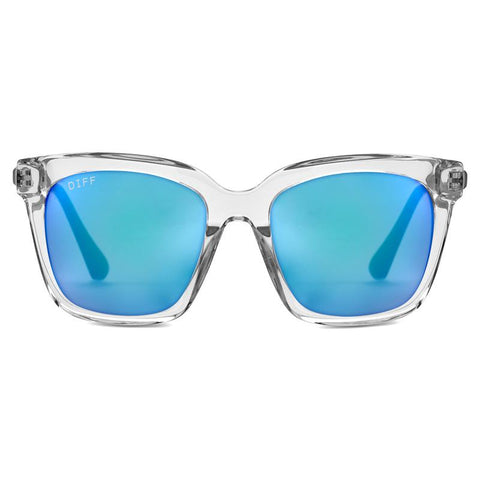 BELLA - CLEAR + BLUE MIRROR + POLARIZED