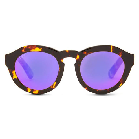 DIME - TORTOISE + PURPLE MIRROR + POLARIZED